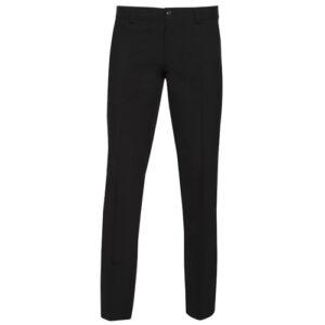 pantalón texturado estrecho