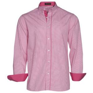 Camisa rosa mangas largas