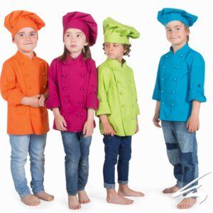 Chaquetillas niños cocinerso