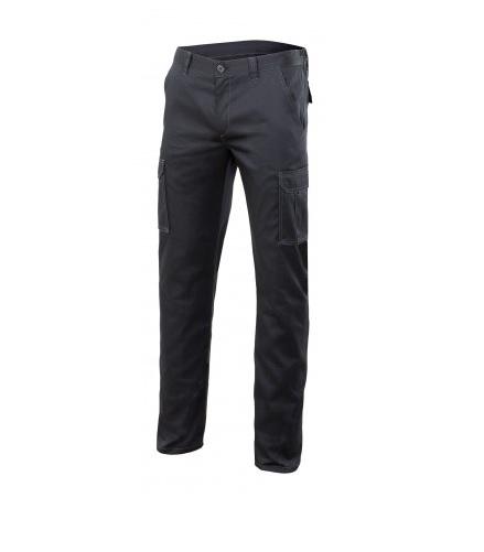 Pantalón multibolsillo con elastán