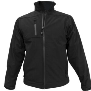 chaqueta soft shell negro