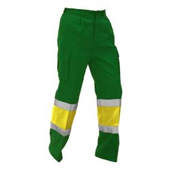 pantalón combinado reflectante