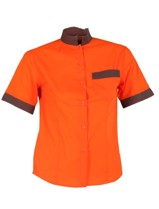 camisa GARYS combi naranja