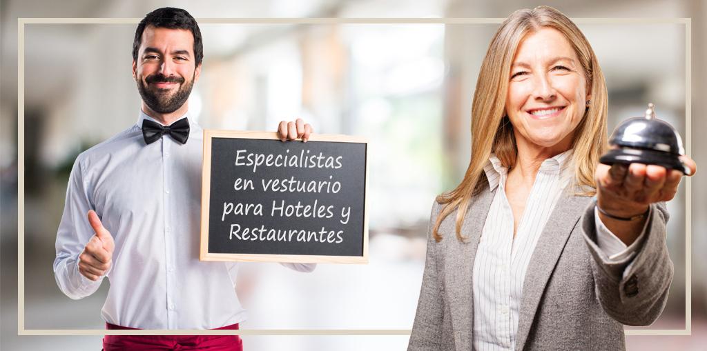 Especialistas en vestuario para hoteles y restaurantes