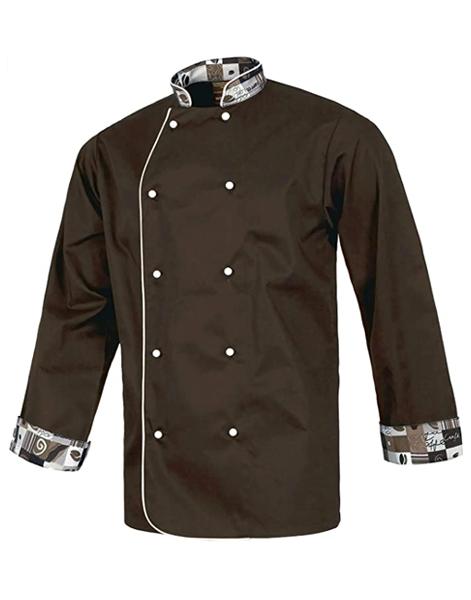 Chaquetilla cocina combinada marrón