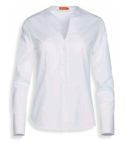 Blusa manga larga cuello V